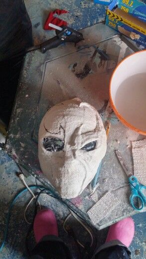 Making the head mask