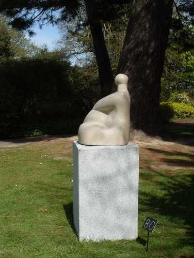 portland stone sculpture by sculptor stephanie davies arai titled decorative figure sculptures for salegarden