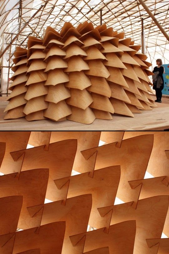 Dragon Skin Pavilion -- DESIGN | Kristof Crolla, Sebastien Delagrange, Emmi Keskisarja, Pekka Tynkkynen
