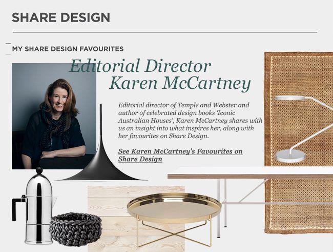 Karen McCartney Shares Her Favourites   Featured on Sharedesign.com