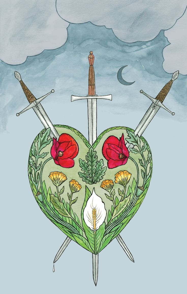 26 Best Images About Three Of Swords On Pinterest