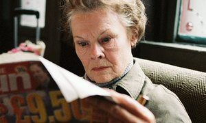 Top 10 unreliable narrators  Will truth out? … Judi Dench as Barbara in the film of Notes on a Scandal.
