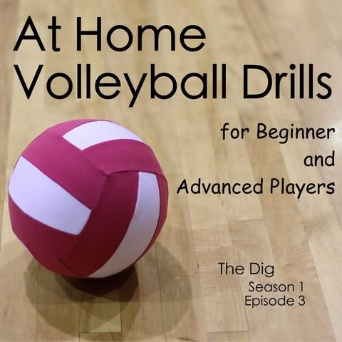 Are you looking for volleyball drills for beginners? Are you more advanced and need something more challenging at home? All of these drills can be done by yours