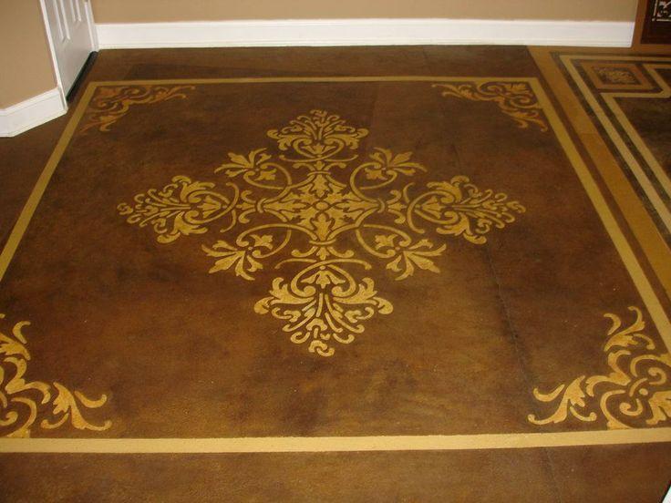 17 Best Images About Floor Cement Paint On Pinterest