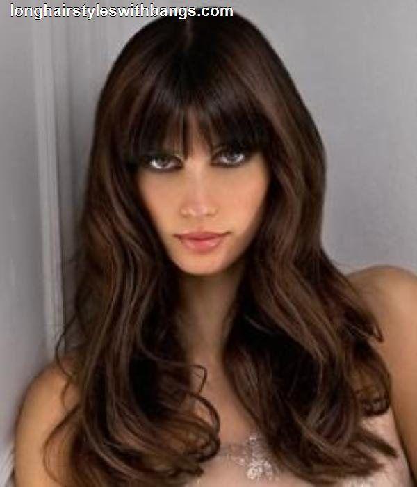 Long Bangs Hairstyles 14 fabulous long layered haircuts with bangs Long Hairstyle Images