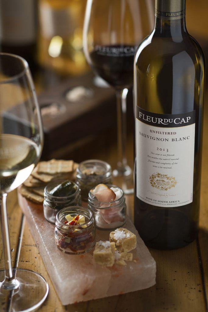 Wine and Salt Pairing, Die Bergkelder, Stellenbosch
