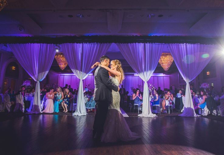 Bride and groom's first dance at the beautiful Carriage House Inn in Calgary! Wedding photography in Calgary by Anna Michalska