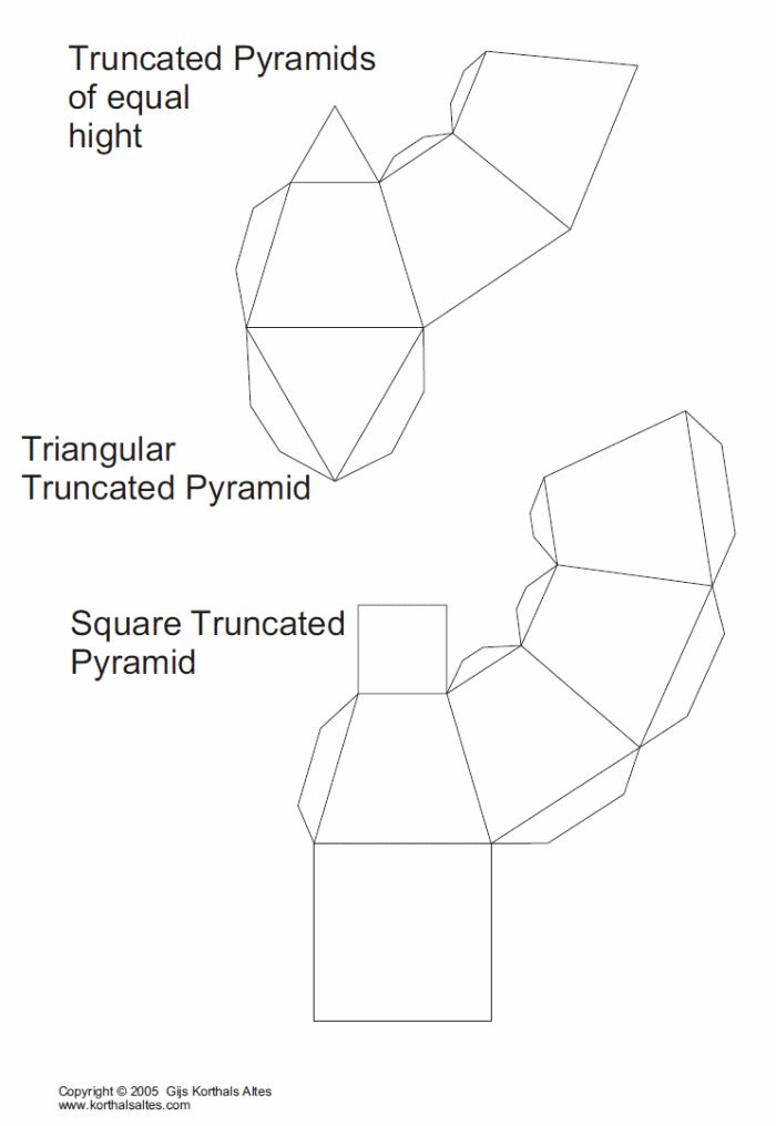 3d Rectangle Template 4 Best Images Of Hexagon 3d Shape Templates