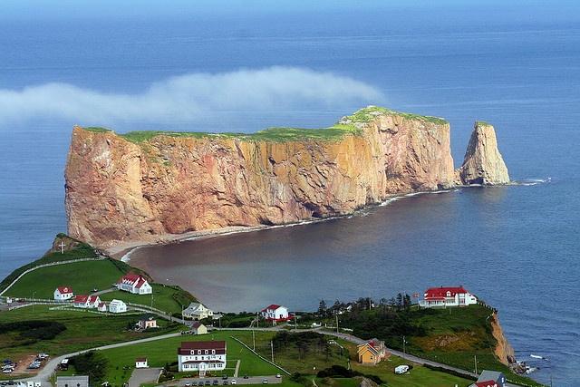 Ville de Percé en Gaspésie (Canada) by Danny VB, via Flickr