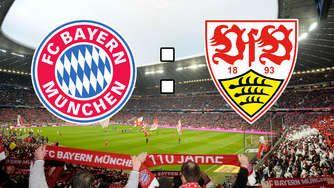FC Bayern München gegen VfB Stuttgart 4-0