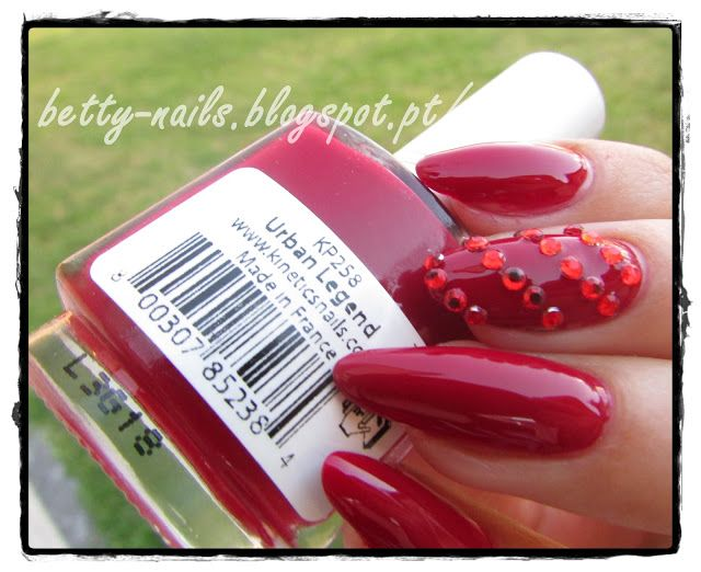 Kinetics Nail Polish Ingredients - Creative Touch