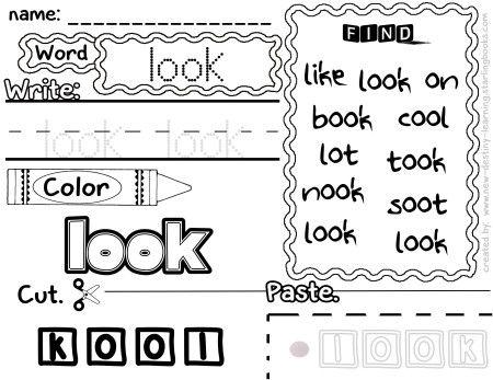 Super Sight Word Book Kindergarten Edition Teaching