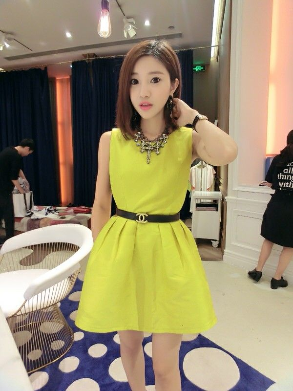 Dress Korea - 9594ILF  Rp 124.000,-