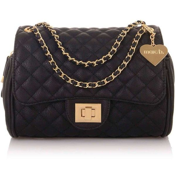 Knightsbridge Quilted Bag by Marc B ($68) ❤ liked on Polyvore featuring bags, handbags, topshop purse, quilted handbags, topshop bags, topshop and topshop handbags