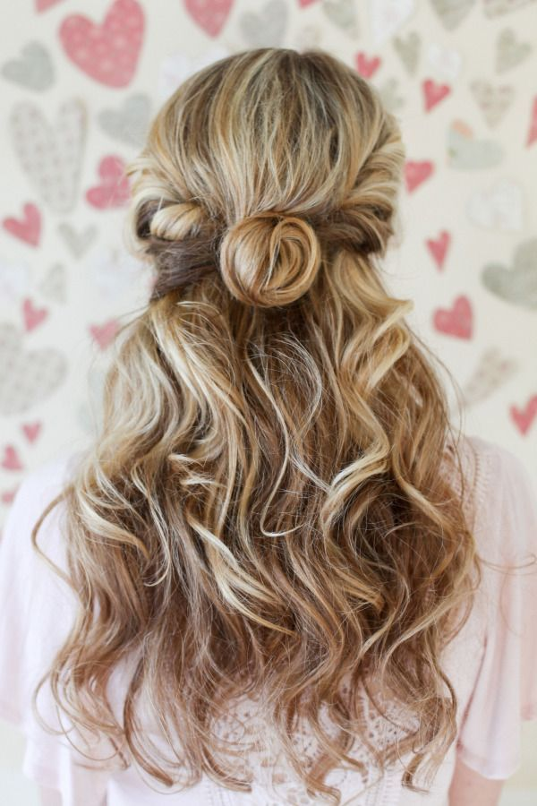 Twisted Half-Up & Waves: http://www.stylemepretty.com/living/2015/06/03/summer-hair-playbook/