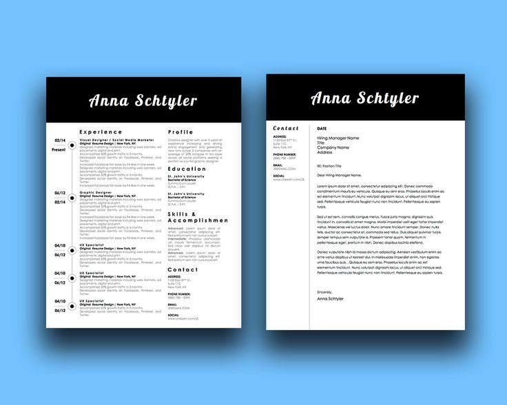 8 best The Modern Millennial images on Pinterest Resume design - the modern resume