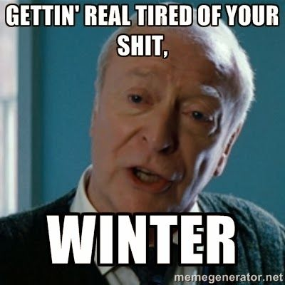 Underachiever's Guide to Being a Domestic Goddess: Funny Winter Weather Memes..