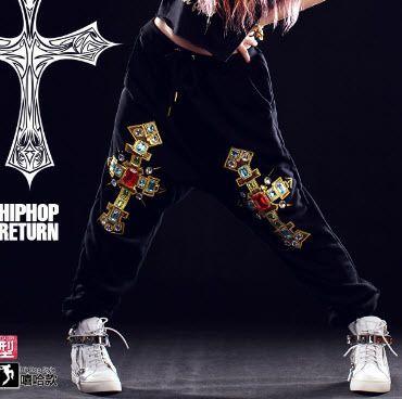 #1105 2017 Hip hop pants women Skateboard Punk Harem Sweatpants Pantalones mujer Trousers women Sweatpants Pantalon femme #Affiliate