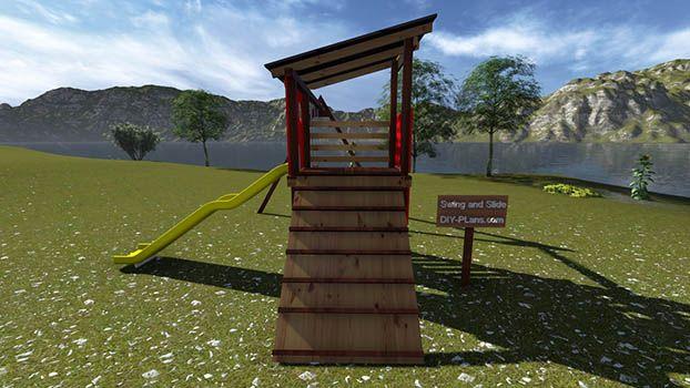 9 Best Swing Set Plans Images On Pinterest Outdoor Swing