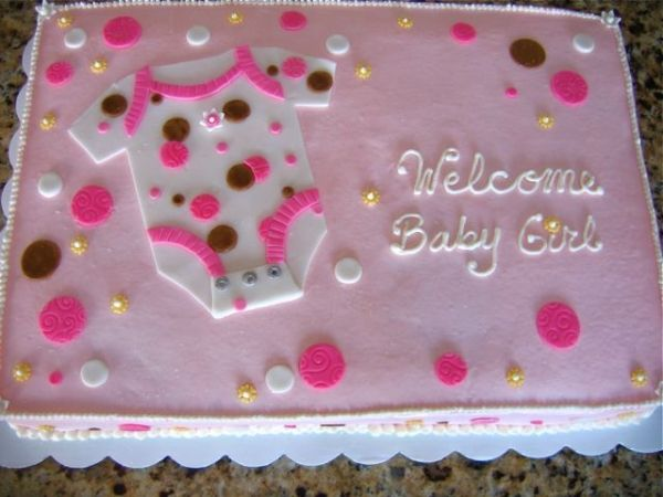 High Quality Baby Shower Sheet Cakes For Girls Image Search Results