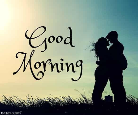 Good Morning Hugs And Kisses Couple