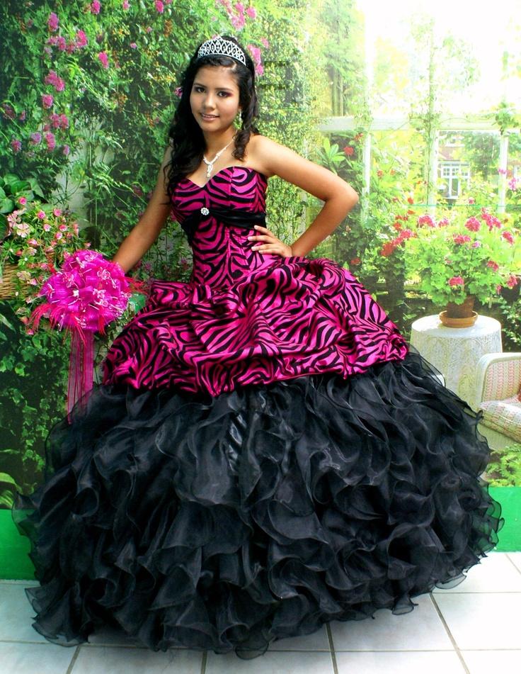cost zebra gowns quinceaneras