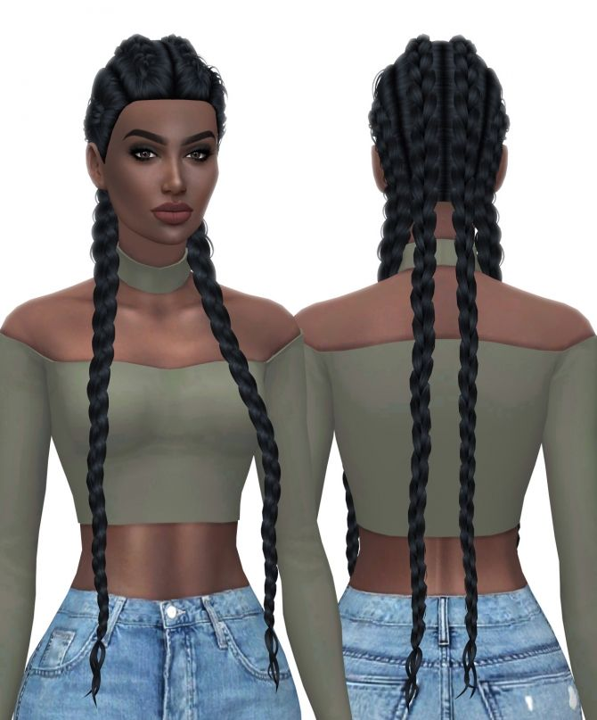 HallowSims Nexus hair retexture at Kenzar Sims via Sims 4 Updates  Check more at http://sims4updates.net/hairstyles/hallowsims-nexus-hair-retexture-at-kenzar-sims/