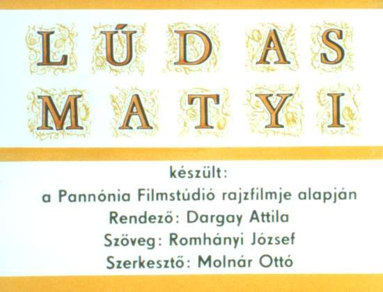Ludas Matyi - régi diafilmek - Picasa Webalbumok