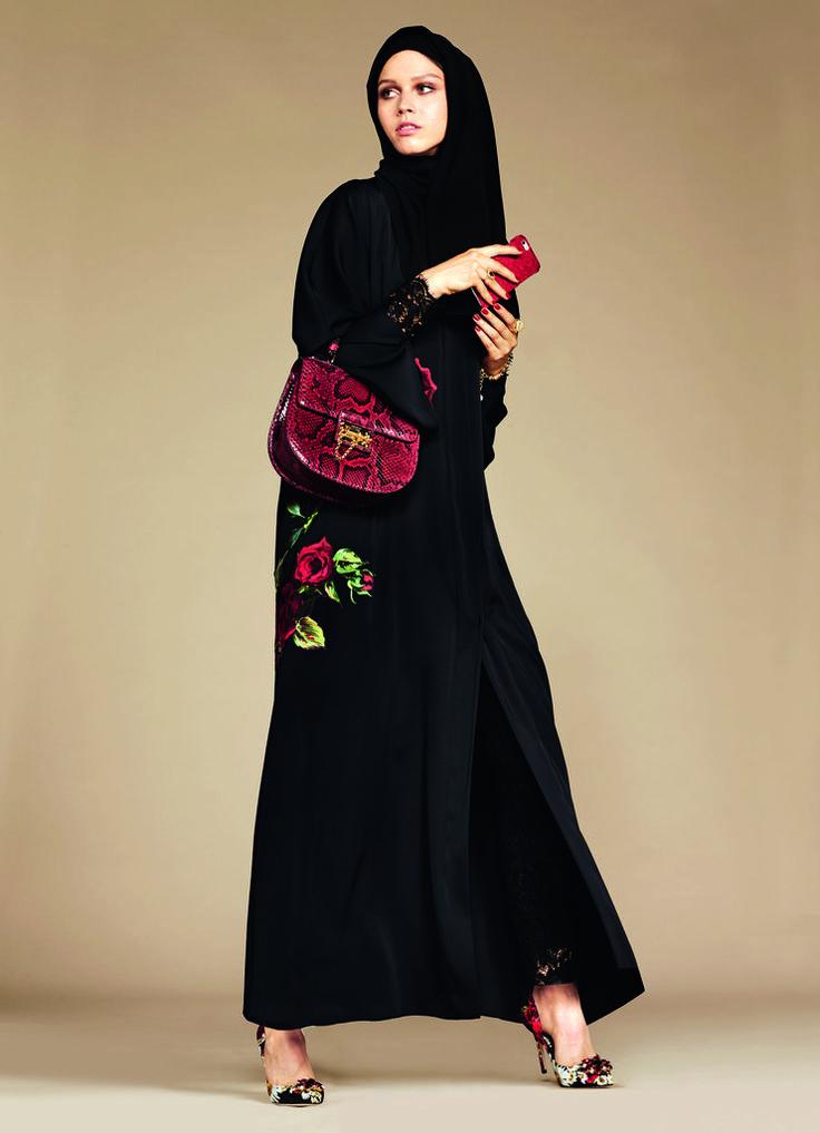 Dolce & Gabbana's Hijab and Abaya Collection 2016