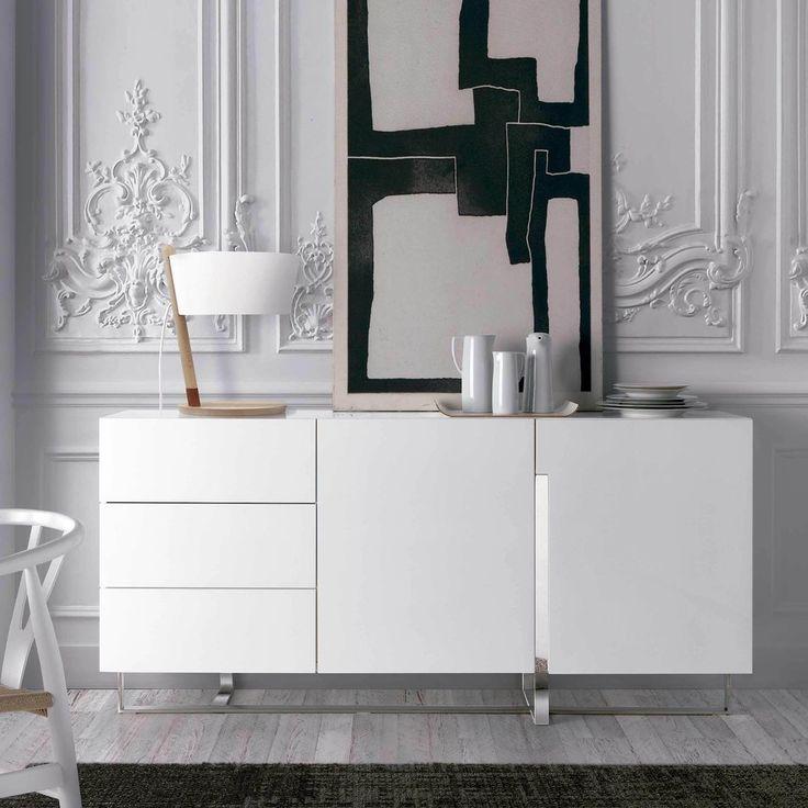Las 25 mejores ideas sobre aparador moderno en pinterest y - Aparadores salon modernos ...