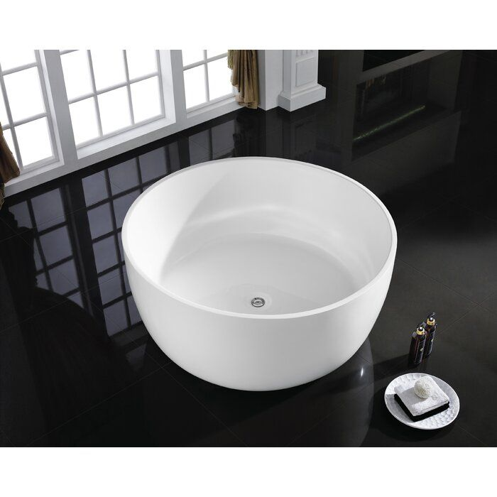 Casalusso Giro 53 X 53 Freestanding Soaking Bathtub Wayfair