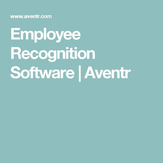 Employee Recognition Software | Aventr