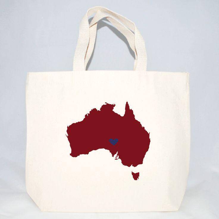 Australia Destination Wedding Totes - Medium