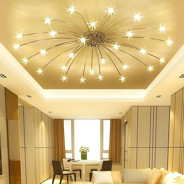 Less Flashy Bedroom Ceiling Lights With Images Living Room Ceiling Ceiling Lamps Living Room Ceiling Lights Living Room