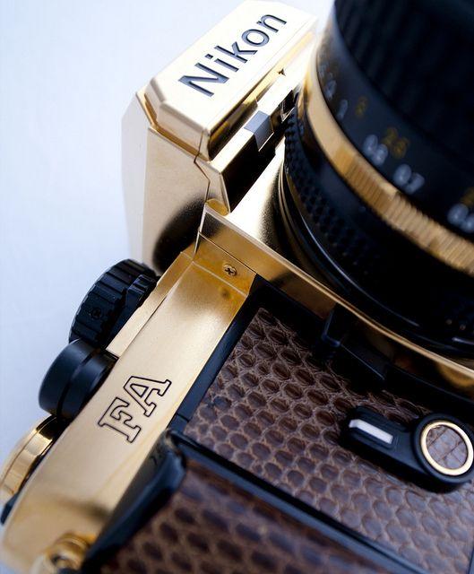 Gold Nikon