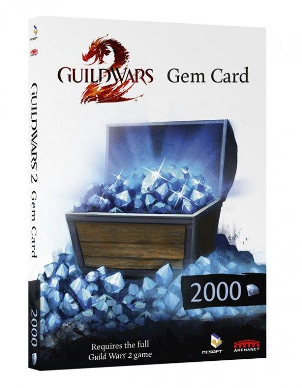 Ehdottoman Rikas Guild Wars 2 Gem Card (2000 Gems) -