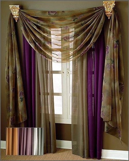 Best Valance Curtains Ideas On Pinterest Window Curtain - Curtain drapery ideas
