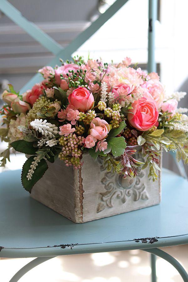 Kompozycja Kwiatowa Madera Wym 23x30cm Small Flower Arrangements Flower Arrangements Simple Spring Flower Arrangements