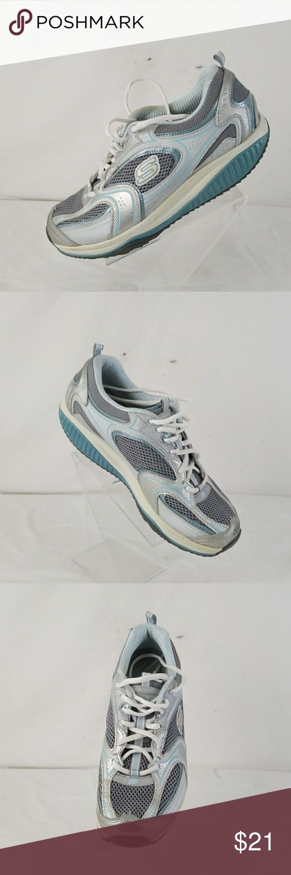 Skechers shape up women's athletic shoes size 8.5 pre owned women's skechers shape up athletic shoes size 8.5. in great condition Skechers Shoes Athletic Shoes