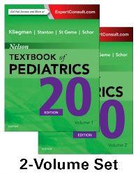 Nelson Textbook of Pediatrics, 2-Volume Set, 20th Edition,Robert Kliegman,Bonita Stanton,Joseph St. Geme,Nina Schor,ISBN9781455775668
