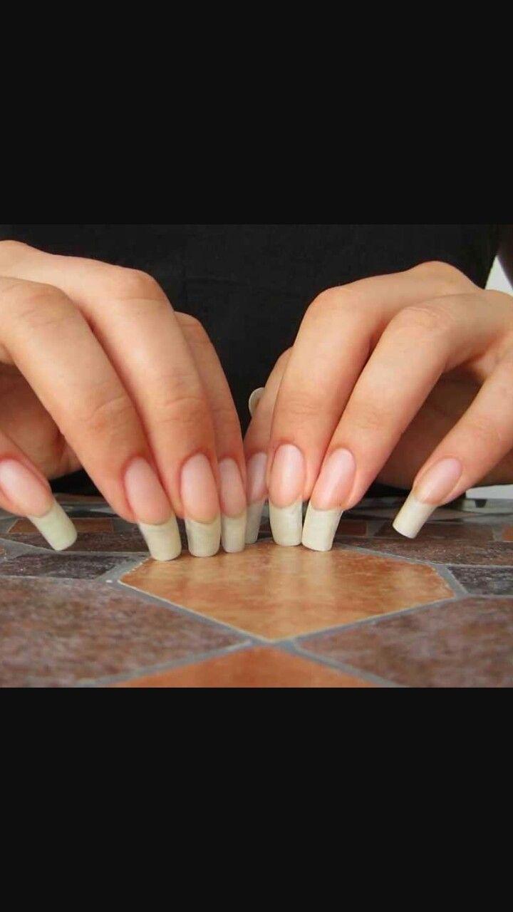 33 best Goal nails images on Pinterest   Long natural nails, Finger ...