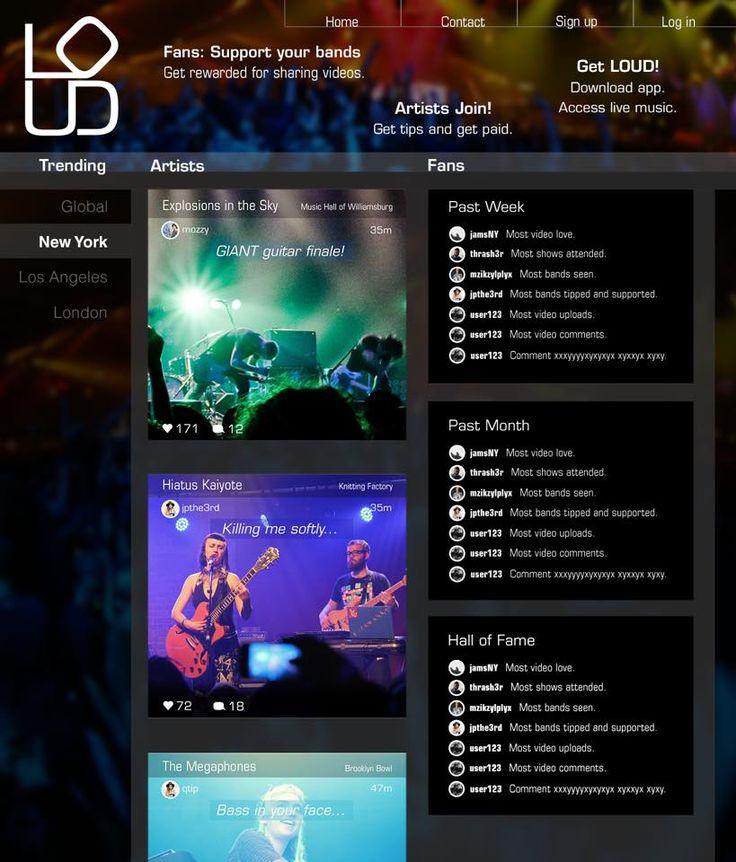 appLoud allows fans upload concert videos and tip artists |