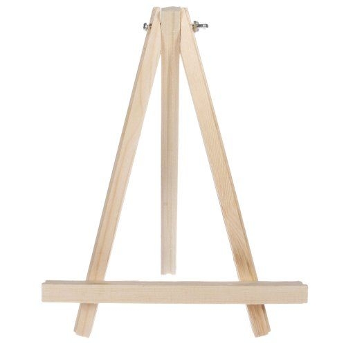 Portable Wooden Tripod Tabletop Display Easel for Sketching Painting (9 Inch) Olymstore http://www.amazon.com/dp/B00LAX7BJY/ref=cm_sw_r_pi_dp_m9gTtb1Q91CEP41Z