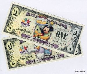 Paying for Merchandise at Walt Disney World: What Can You Use to do This? Disney accepts many forms of payment. Cash, Credit cards, Debit cards, Traveler's checks, Disney Dollars, Stored value cards, Disney Visa Rewards redemption cards, Your Key to the World card. This article goes into detail about the pros and cons of each; also lists what forms are not accepted.
