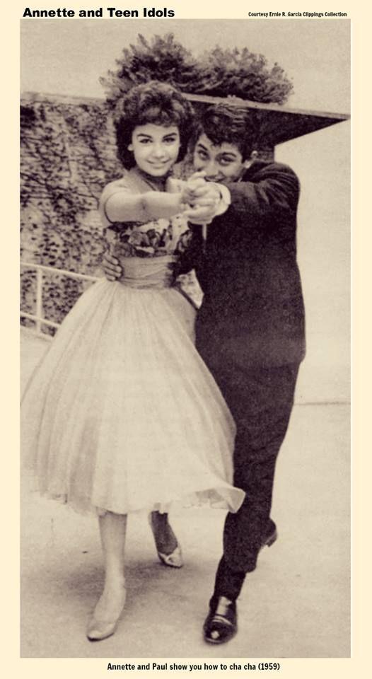 Annette Funicello & Paul Anka