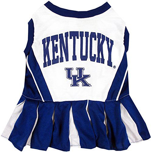 Pets First Collegiate University of Kentucky Wildcast Dog Cheerleader Dress Medium * Want to know more, click on the image.
