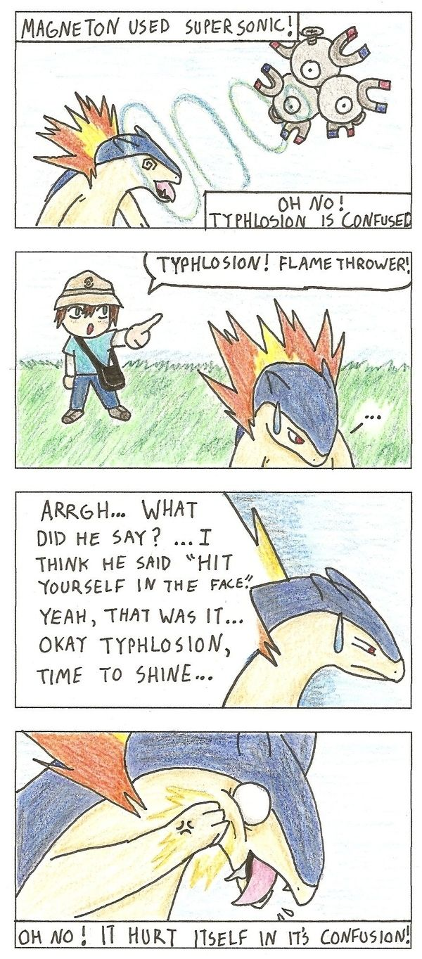 I hate it when they are confused. #pokemon