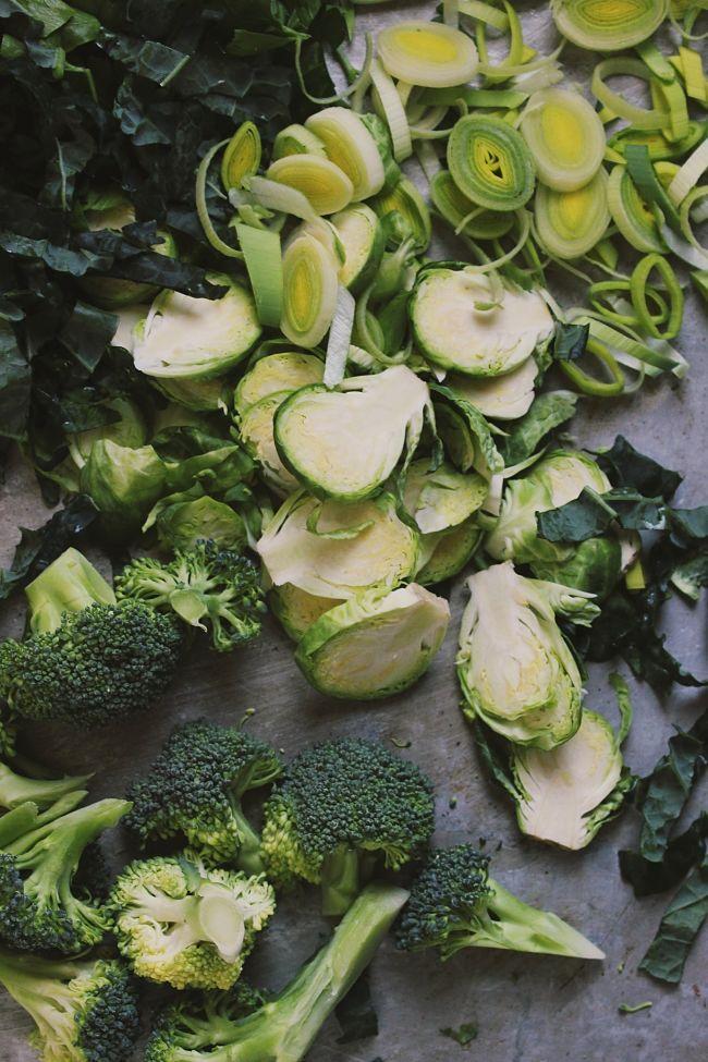 Super Veggie Sage Stuffing   @withfoodandlove