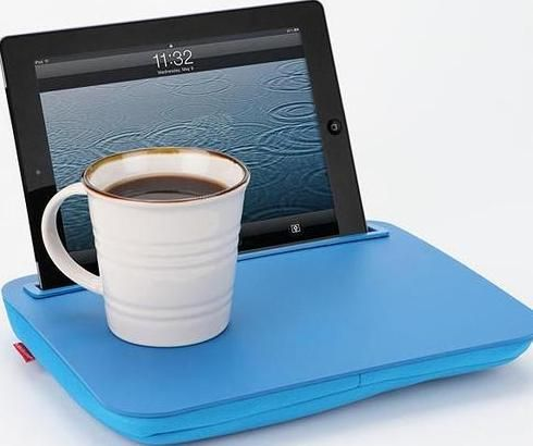 You can find out many practical iPad stands in our gadgets database, but if  you want to comfortably use your iPad in the bed, the iDesk iPad stand may  be