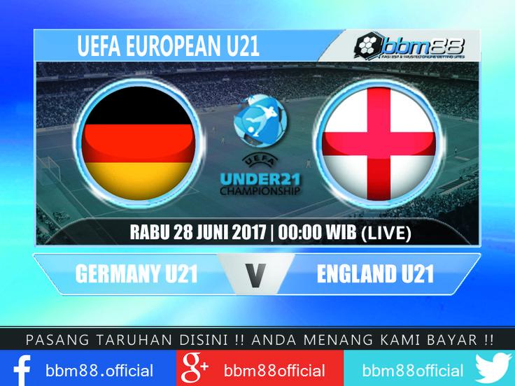 #PREDIKSIPARLAY #PREDIKSISKOR #PREDIKSIBOLA #PARLAY #JADWALBOLA PREDIKSI SCORE BBM88, SELASA, 27 - 28 JUNI 2017 (LIVE):  UEFA - EUROPEAN U21 March 28 JUNI 00:00 Germany U21 Vs England U21 Pasaran: 0 : 1/4 | OU: 2 1/4  Prediksi: Germany U21 | 2 - 1  UEFA - EUROPEAN U21 March 28 JUNI 03:00 Spain U21 Vs Italy U21  Pasaran: 0 : 3/4 | OU: 2 1/2 Prediksi: Spain U21 | 2 - 0  UEFA - CHAMPIONS LEAGUE March 28 JUNI 00:00 Alashkert FC [n] Vs Santa Coloma Pasaran: 0 : 1 1/2 | OU: 2 1/2 Prediksi…